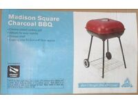Madison SQUARE CHARCOAL BBQ. Brand New.