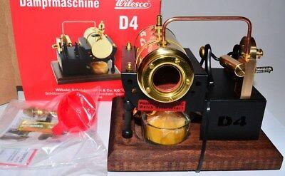 Wilesco 0004 D4 D 4 Dampfmaschine NEUWARE in OVP NEUHEIT 2016