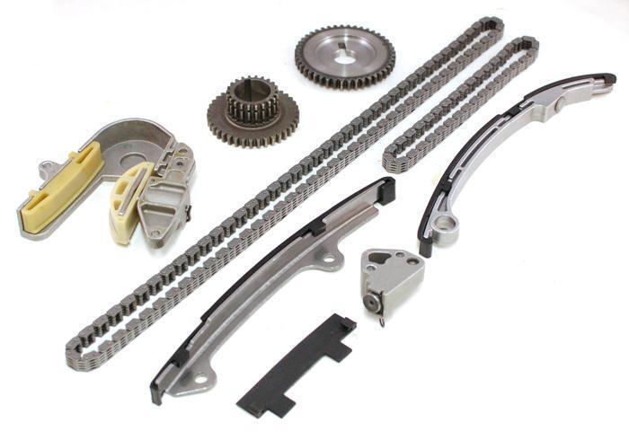 Engine Timing Chain Kit Set For 02-05 Nissan Altima Sentra 2.5l Qr25de