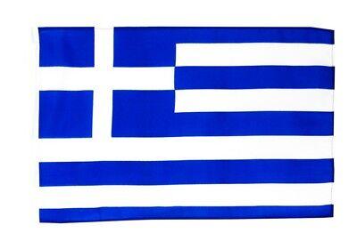 Griechenland Banner griechische Fahnen Flaggen 30x45cm (Land Flagge Banner)