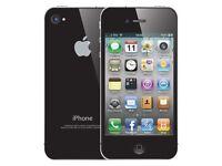 iPhone 4 black 02/giffgaff