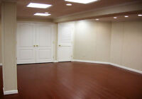 BASEMENT FINISHING  AND HOME RENOS