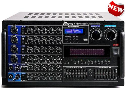 IP-5000 - 6000W Professional Karaoke Mixing Amplifier BRAND NEW MODEL 2020