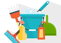 Offer of cleaning services