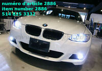 New 2013 80W BMW H8 CREE LED Angel Eyes for BMW