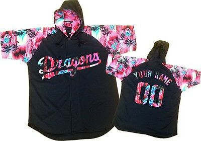 Custom Jersey Hoodie Special design Pink Black Any Size