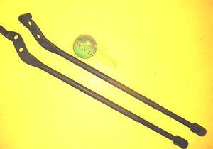 Strut Rod Kit 2Pcs With two Nuts 68 69 70 71 73 Ford Mustang C9ZZ3468RL Maverick