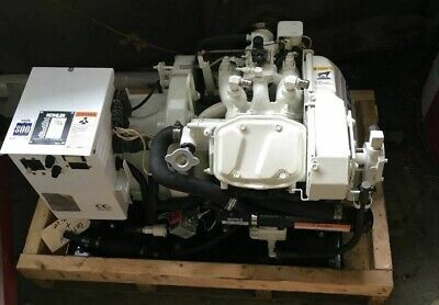 Kohler 4esz 4 Kw Marine Gas Generator 60 Hz 200 Hours Great Runner