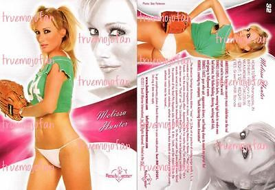 Melissa Hunter *Direct from MOJO! *Autographed to YOU! Benchwarmer Baseball 32
