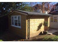 Bespoke garden building/summer house/cabin