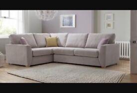 DFS Gracie Left hand corner sofa & Cuddle chair