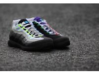 Nike Air Max Zoom Vapor RF X AM95 Air Max 95 Roger Federer UK Size 10 NEW