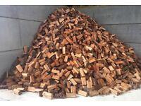 King's log's 2 years seasoned English hardwood