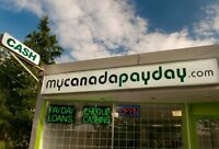 Need Cash Fast?  Get A Loan With My Canada Payday!