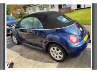 vw beetle auto soft top 60k BARGAIN
