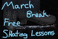 Free March Break Skating Lessons