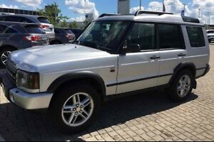 2004 LAND ROVER DISCOVERY SE7 4X4  BLACK LEATHER 7 PASSENGER