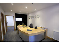 Small one person office available to rent in a serviced environment