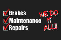 Serenity Auto services -Oil changes, auto repair & cars for sale
