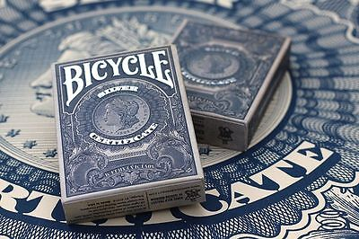 bicycle federal 52 silver certificate brand new sealed