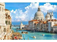 Return flights to Venice from Manchester 7th-10th July 2017 for 2 people