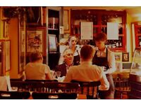 Experienced Waitress required for iconic Leicester Sq wine bar