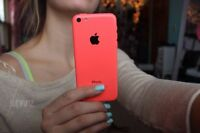 Brand new pink iPhone5c