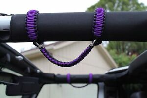 Jeep Wrangle Paracord Grab Handles