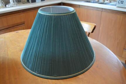 large green lamp shade Golden Grove Tea Tree Gully Area Preview