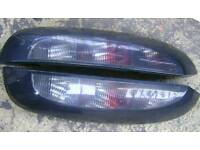 Vauxhall Corsa c smoked rear lights
