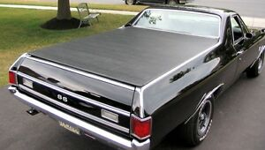 1968-72 Chevy El Camino Hatch Style Tonneau Cover by Craftec Covers