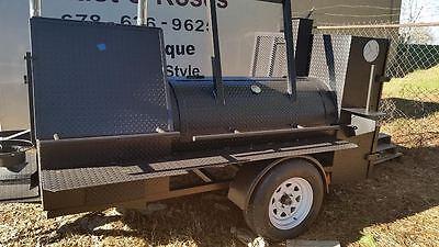 Start A Bbq Catering Vending Business Smoker Grill Trailer Food Truck Restaurant