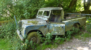 Wanted: OLD LANDROVERS WANTED