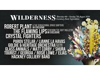 Discounted PAIR of Wilderness tickets