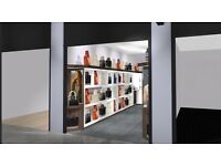 Shopfitter and shopfront shutter required asap.