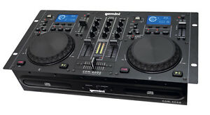 Gemini CDM-4000 Professional DJ Dual CD Player MP3 USB Deck Workstation CDJ