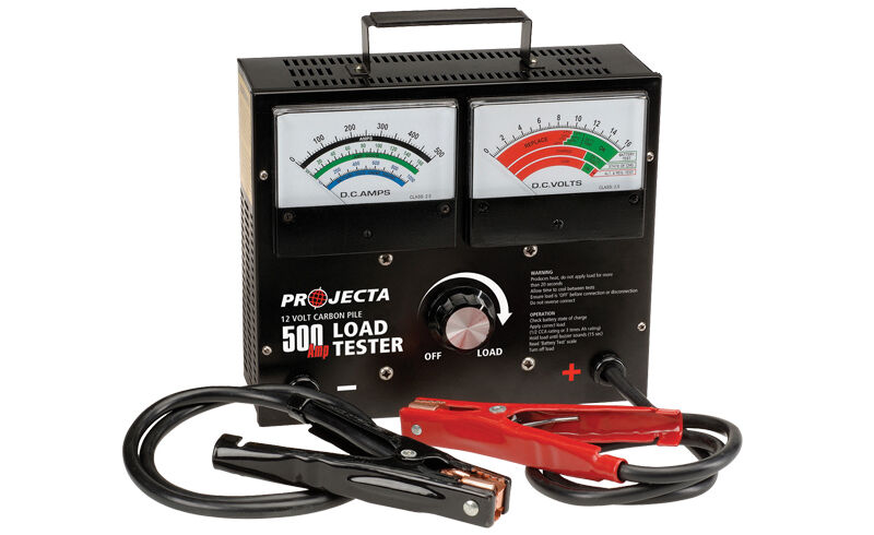 8 Volt Battery Load Tester : Projecta blt v amp carbon pile battery load tester