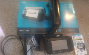 WII U cosole all cords included