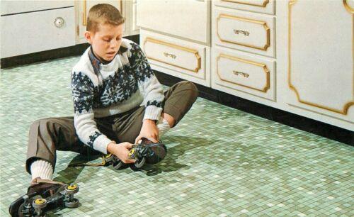 Advertising Ceramic Tile Floor Postcard Stylon VB 20-9750