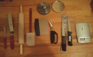 Kitchen utensils in a perfect shape
