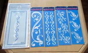 Furniture and Wall Stencils - new -