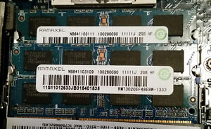 4GB (2x2GB) DDR3 1333 SODIMM Laptop RAM