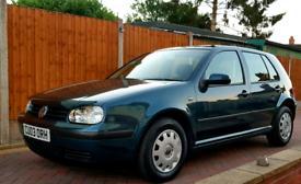 VOLKSWAGEN / VW GOLF 1.6 SE 5 DOOR HATCHBACK LOW MILEAGE