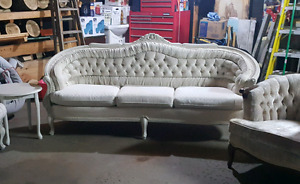Antique Off White Couch