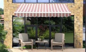 Classic Striped Awning