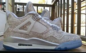 Men's Nike Air Jordan 4 Laser Size 8-8.5 Windsor Region Ontario image 9