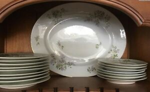 Limoges Fine China FRANCE 62 PIECES CUPS SERVERS PLATES Kingston Kingston Area image 3