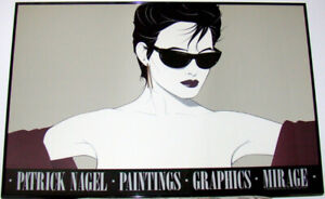 dd89877fd301 PATRICK NAGEL SUNGLASSES ORIGINAL IN FRAME SIGNED IN PLATE 1983