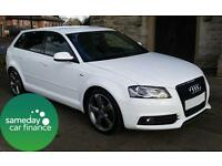 £223.72 PER MONTH 2012 AUDI A3 2.0 S LINE SPECIAL EDT 5 DOOR MANUAL PART LEATHER