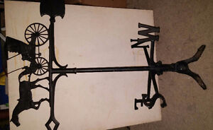 "30"" vintage 1960s Country Dr Weathervane"
